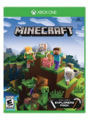 Minecraft w/Explorers Pack (Xbox One)