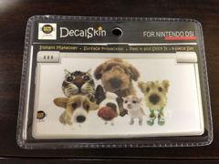 Hanadeka Club Animal Doggy Skin Cover for Nintendo Dsi