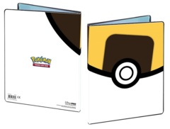 Ultra Pro Pokemon: 10 page 9-Pocket Pro Binder - Ultra Ball