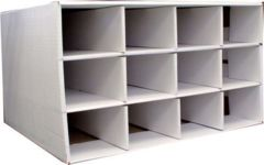 Cardboard Card House Storage Box 9600ct  w/o 800ct Boxes