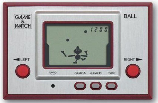 Game & Watch: Ball (Single Screen - Silver Series)