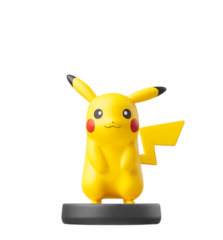Pikachu - Super Smash Bros. - Amiibo (Nintendo)