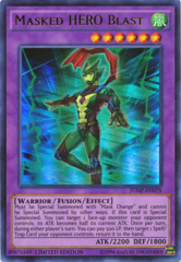 Masked HERO Blast - JUMP-EN078 - Ultra Rare - Limited Edition