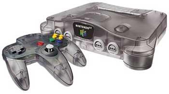 n64 black cartridge games