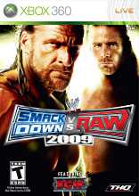 WWE - Smackdown Vs. Raw 2009 (Xbox 360) - Featuring ECW