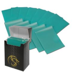 Matte Teal - Standard Boxed Sleeves (BCW) - 80 ct