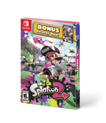Splatoon 2 With Bonus Strategy Guide (Switch)