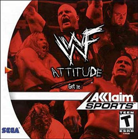 WWF Attitude: Get it! - Video Games » Sega » Sega Dreamcast
