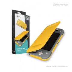 (Hyperkin) Foldable Case and Screen Protector Set for Switch Lite (Yellow)