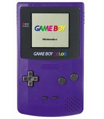 Purple Game Boy Color  (Nintendo)