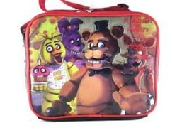 Red - Bonnie - Chica - Foxie (Five Nights at Freddy's) - Lunch Box