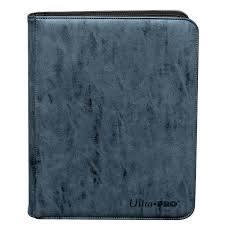 9-Pocket Zippered Premium Pro-Binder - Sapphire