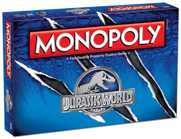 Jurassic World - Monopoly