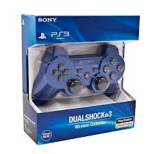 PlayStation 3 (PS3) Controller in Blue (Wireless Sixaxis) Dual shock 3