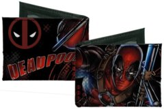 Dead Pool Anti-Hero on Attack Bi-Fold Wallet (Marvel)