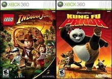 Lego Indiana Jones - The Original Adventures + Kung Fu Panda (Xbox 360)