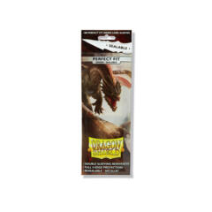Dragon Shield - Standard Perfect Fit Sealable - 100 Count - Smoke
