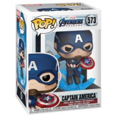 #573 - Captain America w/Mjolnir