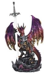 Purple Dragon + Armor + Sword - 17in. - 71732