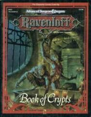 Advanced Dungeons & Dragons: Ravenloft - Book of Crypts