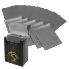 Matte Gray - Standard Boxed Sleeves (BCW) - 80 ct