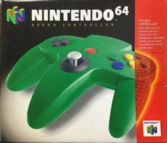 Nintendo 64 Original Controller GREEN