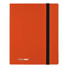 9-Pocket Pumpkin Orange PRO-Binder - Eclipse