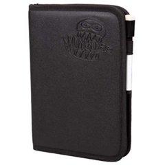 Deluxe Zipperbound 4 pocket Monster Binder