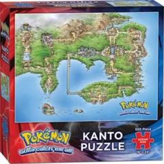 Pokemon Kanto Region 550 Piece Puzzle