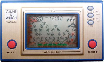 Game & Watch: Fire (Wide Screen Series)