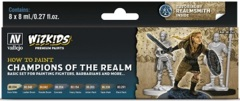 Wizkids Premium Paints: How To Paint- Champions Of The Realm