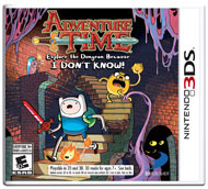 Adventure Time - Explore the Dungeon Because I DON'T KNOW (Nintendo 3DS)