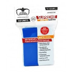 Matte Blue - Supreme (Ultimate Guard) - Small Sleeves - 60ct