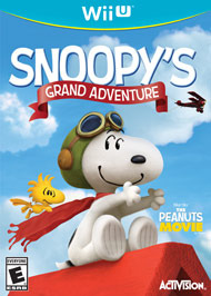 Snoopys Grand Adventure (Nintendo Wii U)