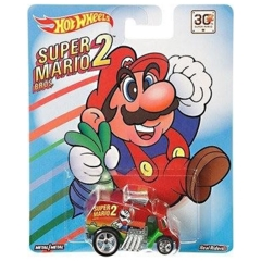Super Mario Bros. 2 Cool One (Hot Wheels) - 30th Anniversary