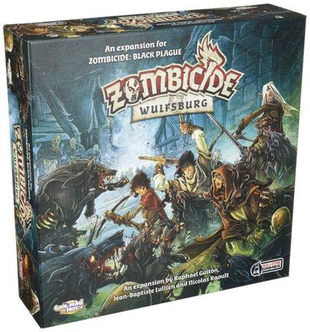 Zombicide: Black Plague - Wulfsburg Expansion