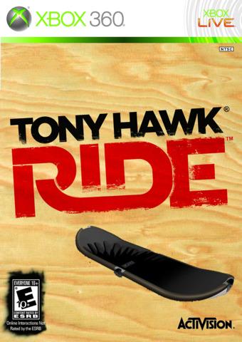 Tony Hawk Ride + Board (Xbox 360)