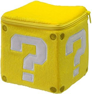 Question Mark Block Plush Toy