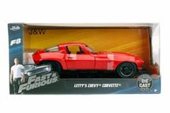 Letty's Chevy Corvette (Fast & Furious) - Jada 1:24