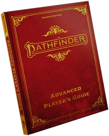 Pathfinder - Advanced Players Guide (Second Edition) Special Edition