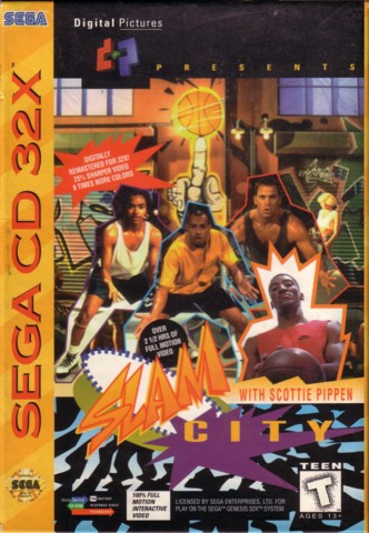 Slam City With Scotty Pippen (Sega) - 32X