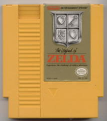 Legend of Zelda (Yellow Test Cart)