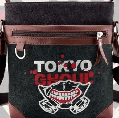 Black - Tokyo Ghoul (Side Bag) - Apparel » Backpacks - Wii Play Games 173463f21d