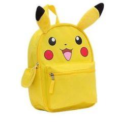 Pikachu - Pokemon (Backpack) - Plush Ears
