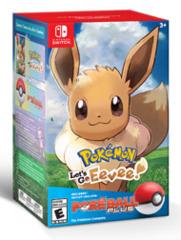 Pokemon Let's Go Eevee W/ Pokeball (Switch)