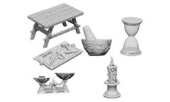 Pathfinder Battles Unpainted Minis - Workbench And Tools