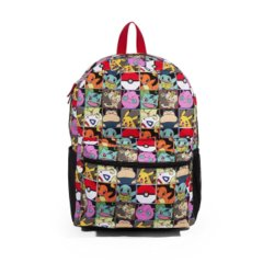 Black - Red - Pokemon - Multiple Character (Backpack)