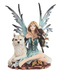 Blue  Fairy w/ Wolf - 92077