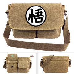 Khaki - Dragon Ball Logo (Messenger Bag) - Small