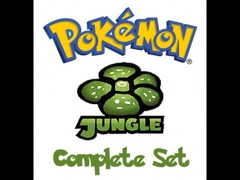 Pokemon Jungle Complete Set (1st Edition)